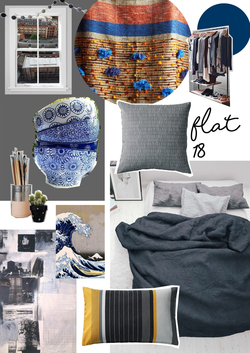 FLAT 18 ROOM COLLAGE